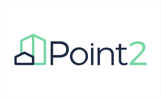Real Estate Marketplace Point2 Gets New Logo