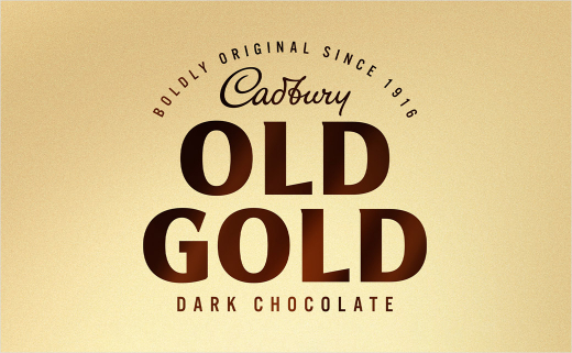 Bulletproof Updates Logo and Packaging for Cadbury Old Gold