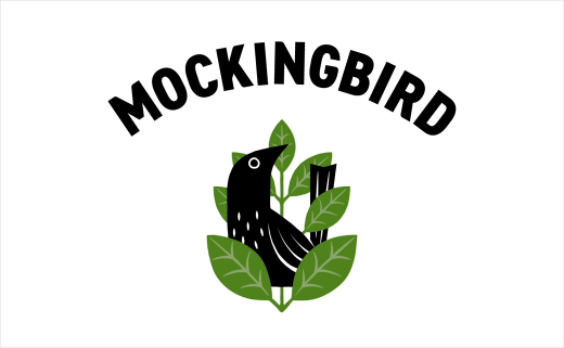 New Smoothie Brand 'Mockingbird Raw Press' Launches with Identity by B&B studio