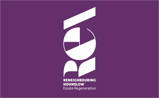 Simon Inc Creates Branding for 'Reneighbouring Hounslow'