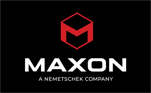 3D Software Company Maxon Unveils New Logo Design