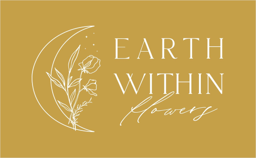 Earth Within Flowers Reveals New Logo Design