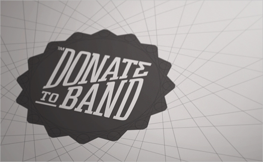 Brand Identity: Donate to Band