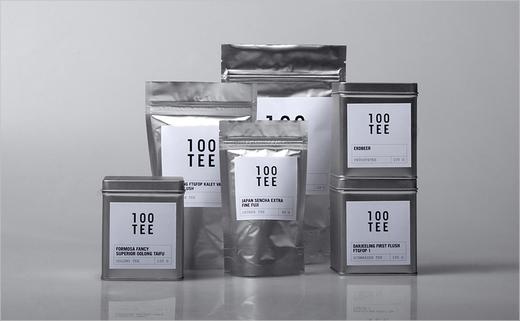 Branding: 100TEE – It pays to buy good tea