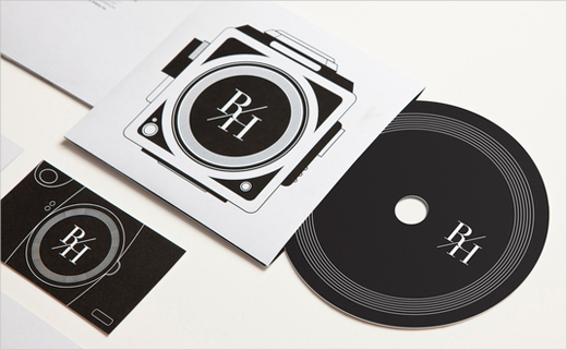 Identity for a Photographer: Ruben Hestholm