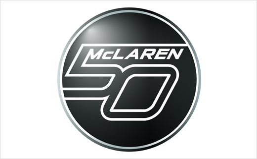 McLaren Reveals 50th Anniversary Logo