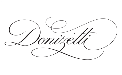 Logotype Design for Italian Composer, Gaetano Donizetti