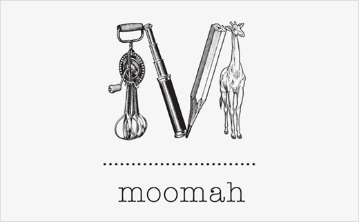Branding for a Kid's Café: Moomah