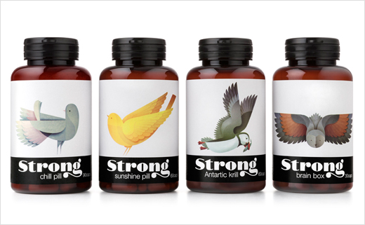 Brand Identity: Strong Nutrients by Pearlfisher