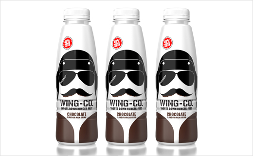 'Wing-Co' Milk Drink Branding Design by PB Creative
