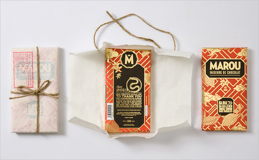 Logo and Packaging Design for Marou Chocolate
