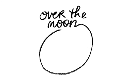 Identity Design for Cheesemaker 'Over The Moon'