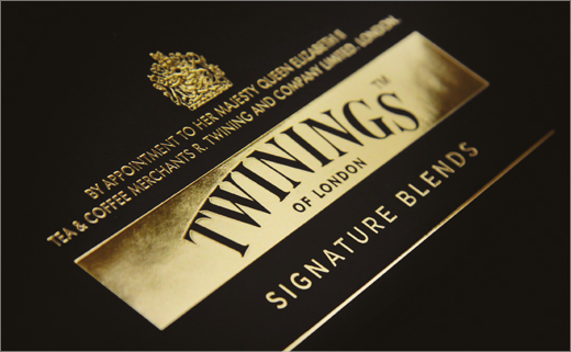 Branding and Packaging Design for Twinings