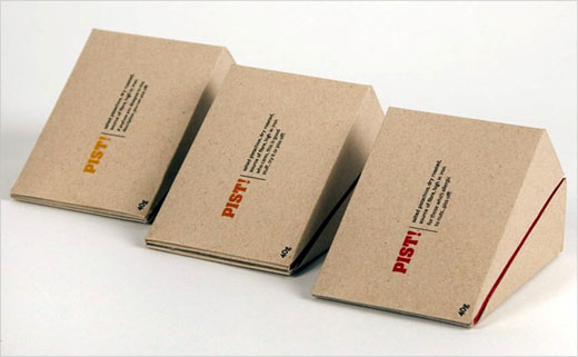 Concept Branding and Packaging Design: 'PIST!'