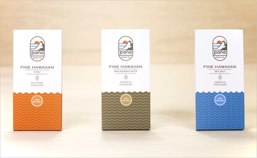 Concept Logo and Packaging Design for 'Pono' Chocolate