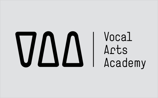 Identity Design for a Music School: Vocal Arts Academy