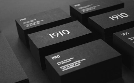 Creative Agency Branding: 1910 Design & Communication