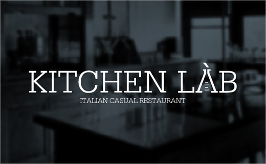 Identity Design for 'Kitchen Lab' Restaurant
