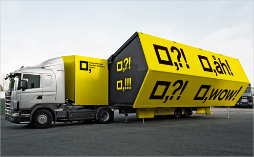 Graphic Identity for Sweden's 'The Mobile Exhibition Lab'