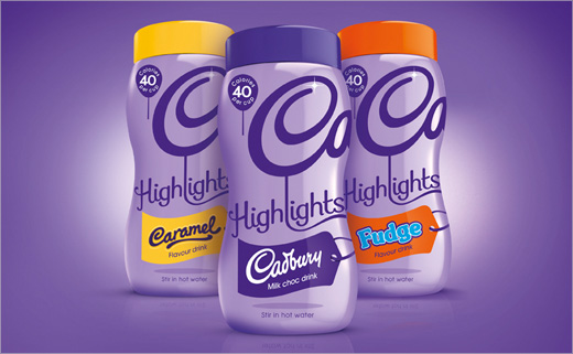 New Identity Design for Cadbury Hot Chocolate by Bulletproof