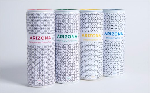 Branding and Packaging Concept for 'AriZona Tea'