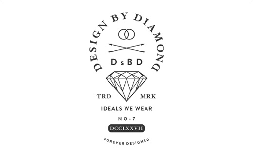 T-Shirt Design and Fashion Branding for 'Design By Diamonds'