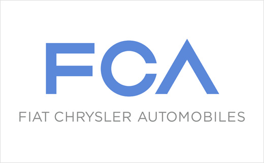 Car Makers Fiat and Chrysler Adopt a New Logo Design