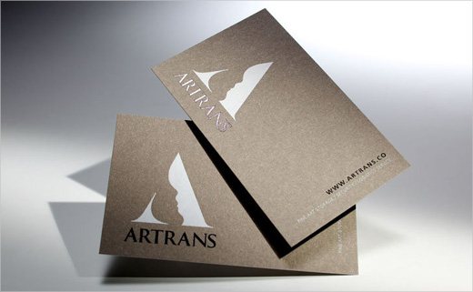 Logo Design for Art Courier, 'ARTRANS'