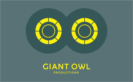 Alphabetical Designs Identity for Film Producer, 'Giant Owl'