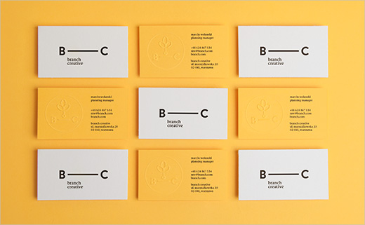 Identity Design for Advertising Agency, 'Branch Creative'