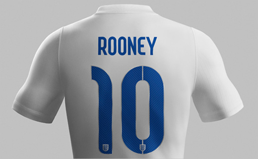 New England World Cup Kit Gets Neville Brody Typeface