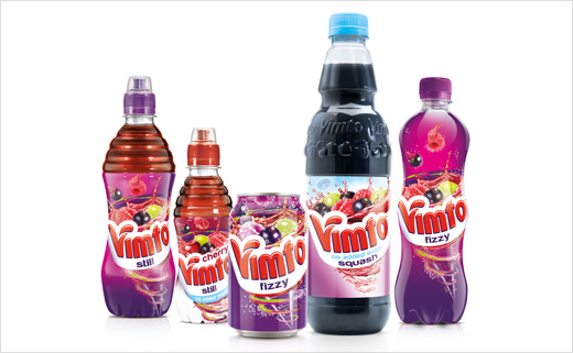 Vimto Gets New Logo and Pack Design