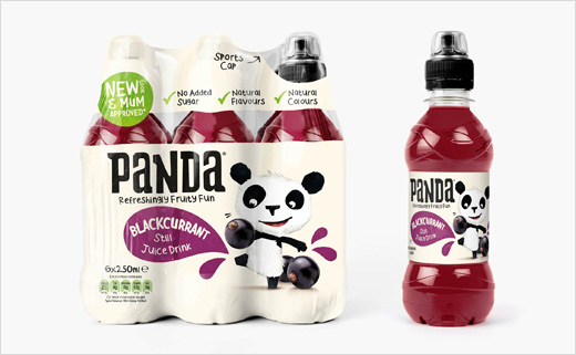 Robot Food Rebrands Panda Drinks