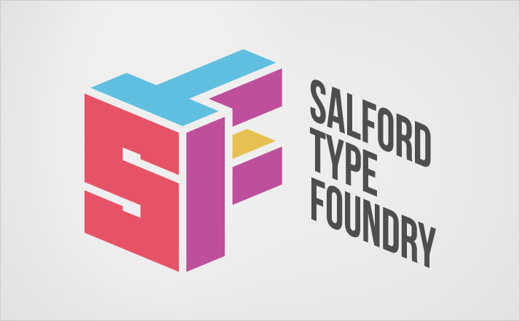 Logo Design for the Salford Type Foundry