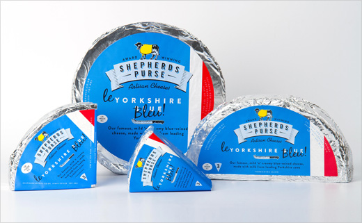 Robot Food Brands Yorkshire Blue as 'Le Yorkshire Bleu'