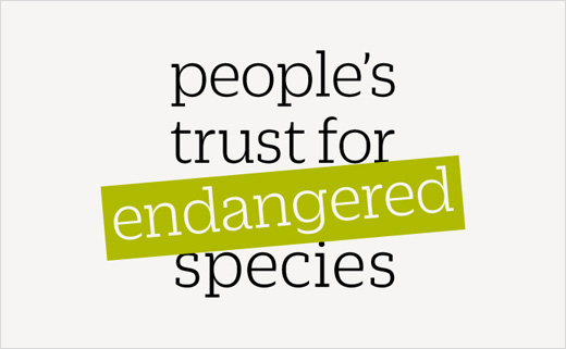 People's Trust for Endangered Species Reveals New Brand Identity Created by Colourful
