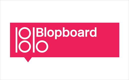 Pentagram Brands New Social Network, 'Blopboard'