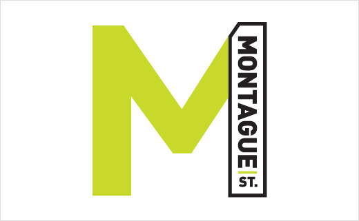 Pentagram Creates Identity for Brooklyn's 'Montague Street'