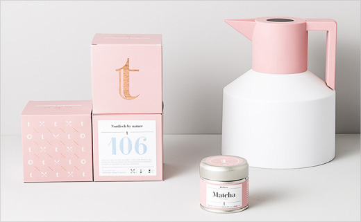 Branding and Packaging Design for 't.lovers'