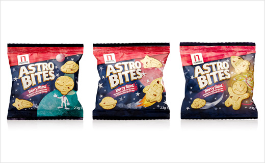Dragon Rouge Brands New 'Space-Themed' Biscuits for Nairns