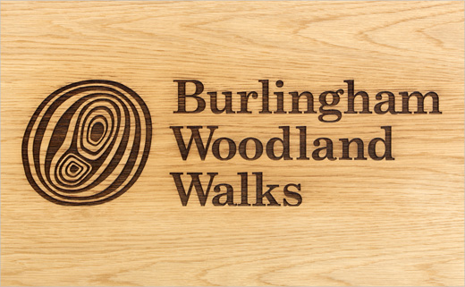 The Click Designs Identity for 'Burlingham Woodland Walks'