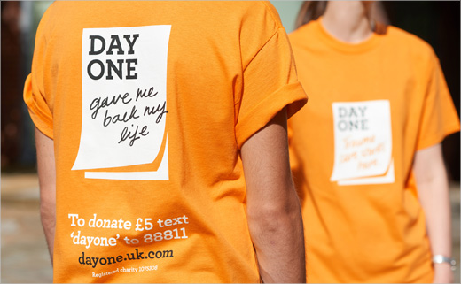 Elmwood Creates Branding for Trauma Charity, 'Day One'