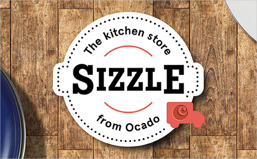 The Clearing Creates Branding for Kitchen Store, 'Sizzle'