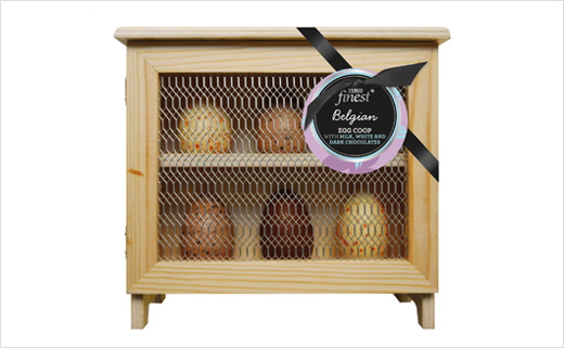 Parker Williams Designs Easter Egg Packaging for Tesco Finest Ranges
