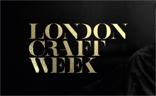 The Partners Creates New Brand for London Craft Week