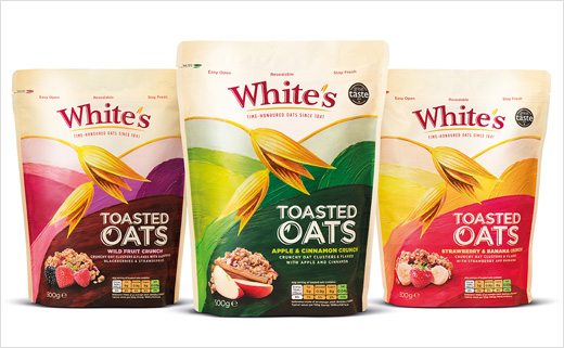Pearlfisher Creates White's Oats New Branding and Packaging
