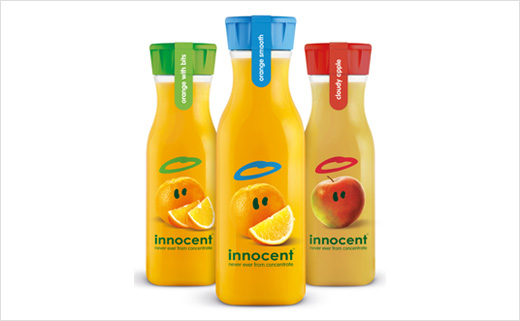 Pearlfisher Redesigns innocent On-the-Go Juice Range