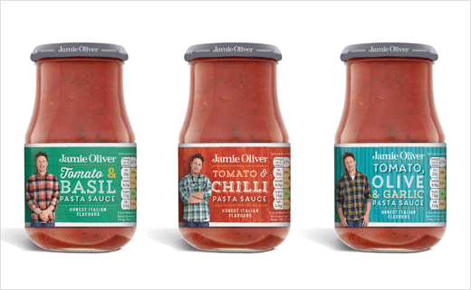 Hornall Anderson Helps Redesign Jamie Oliver Range