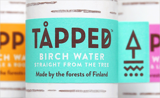 Horse Creates Identity and Packaging for TÅPPED Birch Water