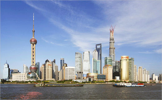 Shanghai Launches Logo Design Contest to Brand Pudong New District